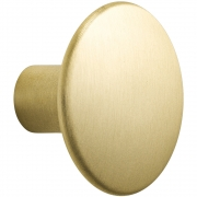 Muuto - The Dots Metal Coat Hook Brass | Medium