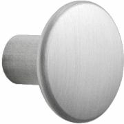 Muuto - The Dots Metall Wandhaken Aluminium | Klein (Ø 2,7 cm)