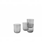 Muuto - Corky Tall Glasses (Set of 4) Grey