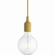 Muuto - E27 Pendant Lamp LED Mustard