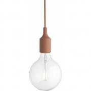 Muuto - E27 Pendant Lamp LED Terracotta