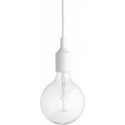Muuto - E27 Pendant Lamp LED White