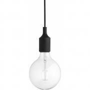 Muuto - E27 Pendelleuchte LED Schwarz