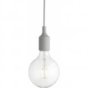 Muuto - E27 Pendant Lamp LED Light Grey