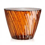 Kartell - Sparkle Side Table Amber