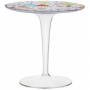 Kartell - Tip Top Kids Table with pattern