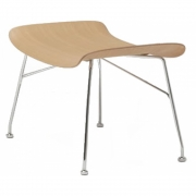 Kartell - S/Wood Footstool