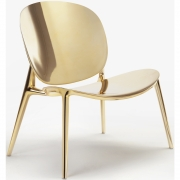 Kartell - Be Bop Poltrona Indoor Ouro