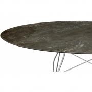 Kartell - Glossy Tisch oval 192 cm