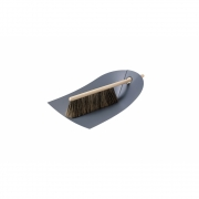 Normann Copenhagen - Dustpan & Broom Dark grey