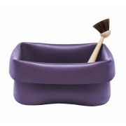 Normann Copenhagen - Washing-Up Spülwanne & Bürste violett