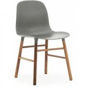 Normann Copenhagen - Form Chair Grey | Walnut