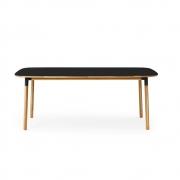 Normann Copenhagen - Form Tisch rechteckig Schwarz