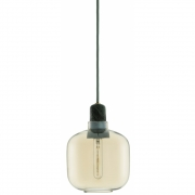 Normann Copenhagen - Amp Pendant Lamp Small | Gold / Green