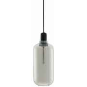 Normann Copenhagen - Amp Pendant Lamp Large | Smoke / Black
