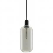 Normann Copenhagen - Amp Pendant Lamp Large   Smoke / Black