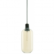 Normann Copenhagen - Amp Pendant Lamp Large | Gold / Green