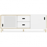 Normann Copenhagen - Kabino Sideboard mit Schubladen Weiß