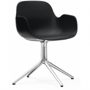 Normann Copenhagen - Form Armchair Swivel 4L