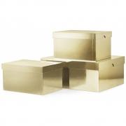 Normann Copenhagen - Metallic Boxes 3 pcs.