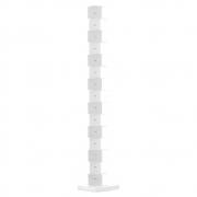 Opinion Ciatti - Ptolomeo Büchersäule freistehend 215 cm | Weiß