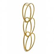 Opinion Ciatti - Senzatempo Wardrobe Attachment Wall anchorage   Gold 24 K