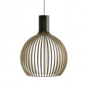 Secto Design - Octo 4240 Hängeleuchte Birke schwarz laminiert