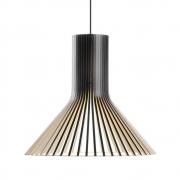 Secto Design - Puncto 4203 Hängeleuchte Birke schwarz laminiert
