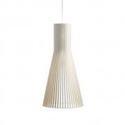 Secto Design - Secto 4200 Hängeleuchte Birke weiß laminiert