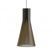 Secto Design - Secto 4200 Hängeleuchte Birke schwarz laminiert