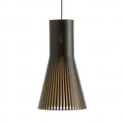 Secto Design - Secto 4201 Hängeleuchte Birke schwarz laminiert