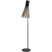 Secto Design - Secto 4210 Stehleuchte Birke schwarz laminiert