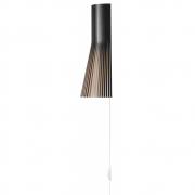 Secto Design - Secto 4231 Wandleuchte Birke schwarz laminiert