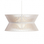 Secto Design - Kontro 6000 Hängeleuchte Birke weiß laminiert