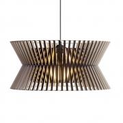 Secto Design - Kontro 6000 Hängeleuchte Birke schwarz laminiert