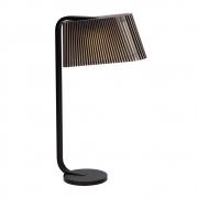 Secto Design - Owalo 7020 Tischleuchte Birke schwarz laminiert