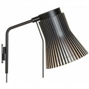 Secto Design - Petite 4630 Wandleuchte Birke schwarz laminiert