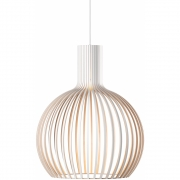 Secto Design - Octo 4241 Hängeleuchte Birke weiß laminiert