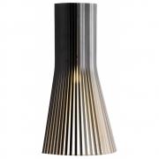 Secto Design - Secto 4231 Wandleuchte mit Wandanschluss Birke schwarz laminiert
