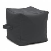 Sitting Bull - Checker XL Pouf Dark Grey