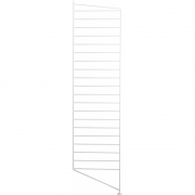 String - Bodenleiter für String® System H115 x T30 cm | Weiß | 1 Pack