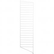 String - Bodenleiter für String® System H115 x T30 cm | Weiß | 2er Pack