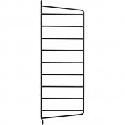 String - Wandleiter für Regalsystem 50 x 20 cm | Schwarz | 1 Stk.