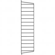 String - Wandleiter für String® System H75 x T20 cm | Schwarz | 2er Pack