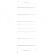 String - Wandleiter für Regalsystem 75 x 30 cm | Weiß | 2er Pack