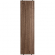 String - Regalboden für String® System (3er Set) 78 x 20 cm   Walnuss