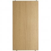 String - Regalboden für String® System (3er Set) 58 x 30 cm | Eiche