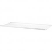 String - Regalboden Metall niedrige Kante für String® System 78 x 30 cm | Weiß