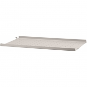 String - Shelf System Metal Shelf Low Edge