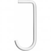 String - String+ Haken für Regalbrett Metall (5 Stk.) Weiß